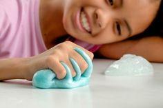 cómo hacer slime masa elástica i arena mágica