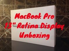"MacBook Pro (2013) 13"" Retina Display Unboxing y Primera Vista (En Español)"