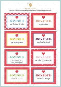 bons pour amoureux t l charger etiquettes pinterest cadeau noel et amour. Black Bedroom Furniture Sets. Home Design Ideas