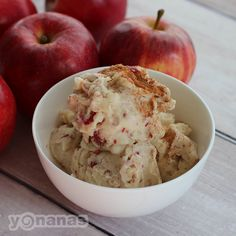 Apple Pie Yonanas is one of our favorite ways to get our 'apple a day'.