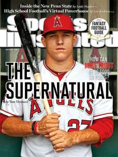 Angels Fyi Mike Trout Is A National Story