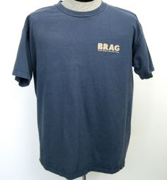 Buell T-Shirt XL 1997 BRAG Buell Owners Adventure Group Int'l Motocycle Shows