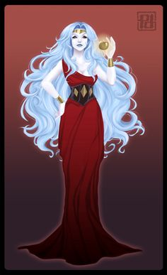 Eris, goddess of chaos and discord, obviously based in the Saint Seiya one. Michael Moorcock, Mythological Characters, Greek And Roman Mythology, Apple Art, Ancient Civilizations, Gods And Goddesses, Deities, Online Art Gallery, Character Inspiration