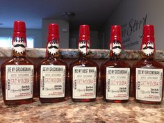 Private Listing for idolaceyxanne02 Custom Wedding Groomsman Liquor Labels for your Best Man and Groomsman Gifts