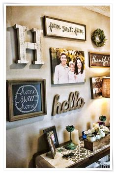 48 Easy Diy Farmhouse Living Room Wall Decor Ideas - Page 6 of 48 - Decorating Ideas - Home Decor Ideas and Tips Room Wall Decor, Diy Wall Decor, Home Decor Bedroom, Entryway Decor, Diy Home Decor, Diy Bedroom, Living Room Decor Hobby Lobby, Bedroom Ideas, Master Bedrooms