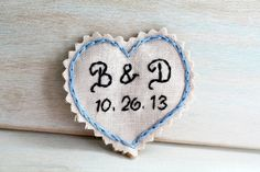Hand Embroidered Wedding Dress Patch. Gift for Bride. Wedding Dress  Accessories