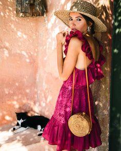 "Alexandra Pereira en Instagram: ""The perfect dress for summer @lovelypepacollection 🌺🐈 #lovelypepatravels #italy #amalfi #lovelypepagirls"""