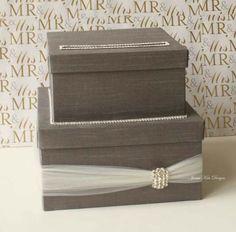 Wedding Card Box Money Box Wedding Gift Card Money Box - Custom Made to Order. $95.00, via Etsy.