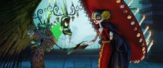 Xibalba and La Muerte Picture on The Book of Life Movie 2014 Wallpaper
