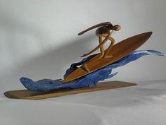 Surfing Sculptures by David Arnold Facebook Page: https://www.facebook.com/david.arnold.1650332?fref=ts&ref=br_tf