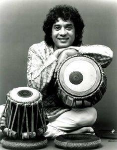 Zakir Hussain on Tablas