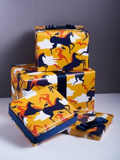 With the aim to make a lasting impression, Mathilde Habert and Claire Commeau founded Impression Originale, offering exclusive luxury wrapping paper and couture bows . Charles & Ray Eames, George Nelson, Claire, Wrapping, Wraps, Bows, Couture, Luxury, Paper