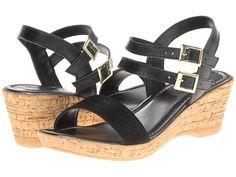 Bella-Vita Zucchero Black Leather - Zappos.com Free Shipping BOTH Ways