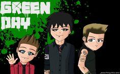 Green Day Wallpaper by Jerome1234.deviantart.com on @deviantART