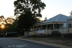Old Queenslander House at Old Petrie Town