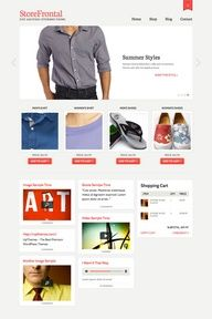http://www.designsonline.co.uk - real ecommerce, easy to use, and a doddle to manage