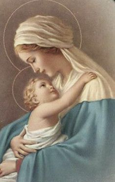 Mother Mary and Baby Jesus Catholic Prayers, Catholic Art, Religious Art, Catholic Blogs, Catholic Saints, Religious Pictures, Jesus Pictures, Blessed Mother Mary, Blessed Virgin Mary