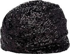 Pin for Later: Diese Kopfbedeckung ist alles was ihr braucht um stylisch durch diesen Winter zu kommen  Saint Laurent Turban mit Pailletten (1.332 €)