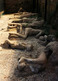 The destruction of Pompeii will never be lost in our heart