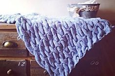 Arm Knit Beautiful Baby Blankets In Under 30 Minutes