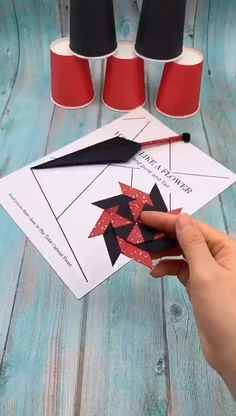 origami for kids step by step me for more handmade tutorial. Why not show your work in the comment area Diy Crafts Hacks, Diy Crafts For Gifts, Diy Crafts Videos, Creative Crafts, Cool Paper Crafts, Paper Crafts Origami, Wood Crafts, Diy For Kids, Crafts For Kids