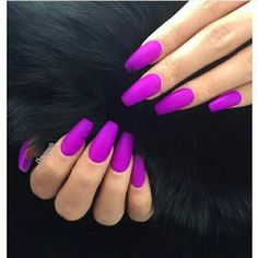 Semi-permanent varnish, false nails, patches: which manicure to choose? - My Nails Bright Acrylic Nails, Best Acrylic Nails, Perfect Nails, Gorgeous Nails, Amazing Nails, Long Nails, My Nails, Matte Nails, Matte Gel