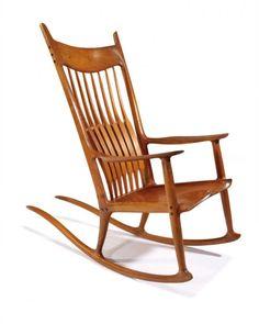 387 best maloof rocking chairs images in 2019 sam maloof rh pinterest com