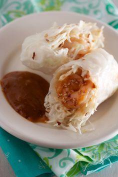 ... Rolls on Pinterest | Summer rolls, Vietnamese summer rolls and Shrimp