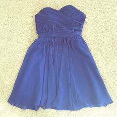 Royal Blue, Sweetheart Neckline Dress Royal Blue Homecoming or Prom dress! Simple but elegant, with a wonderful fit. Tag has been removed in dress, due to irritation. Samila Boutique Dresses Prom