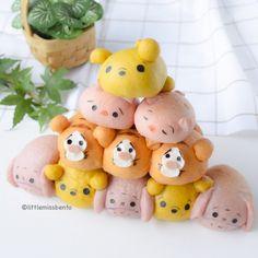 Pooh Tsum Tsum Bread Recipe (3)