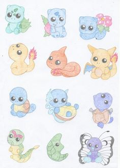 Adorables pokemon