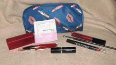 Hautelook 8 pc lip lot bag Crown Brush Lorac Laura Geller Mirenesse Lord & Berry