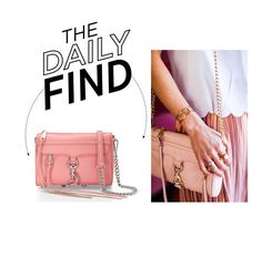 """""""The Daily Find: Rebecca Minkoff Mini M.A.C. Crossbody"""" by polyvore-editorial ❤ liked on Polyvore featuring Rebecca Minkoff and DailyFind"""