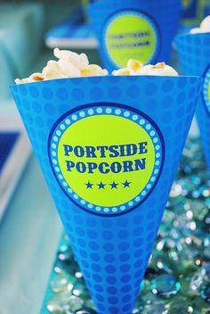 Portside Popcorn... cute!