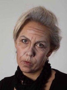 Als -alte Frau- für Karneval oder Mottoparty schminken