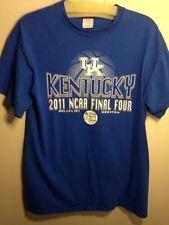 Kentucky Wildcat collectible t-shirt, UK 2011 NCAA Final Four, Houston, Men, Med