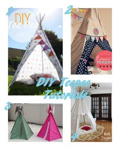 Tutorial Round Up: Teepees... I'm thinking for the pups!