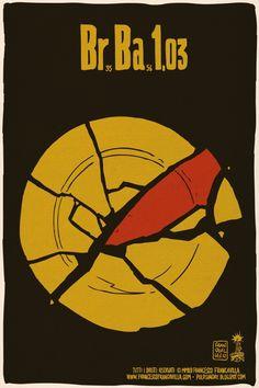 The Black Beetle Francesco Francavilla is celebrating the upcoming Breaking Bad finale with a series of minimalist episode posters. Breaking Bad Episode 1, Breaking Bad Season 1, Breaking Bad Poster, Mad Men, History Instagram, Breking Bad, Minimal Movie Posters, Heisenberg, Movie Mistakes