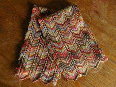 Favorite Scarf Ever by Lisa Bruce via Ravelry - free pattern - (Missoni-like!)