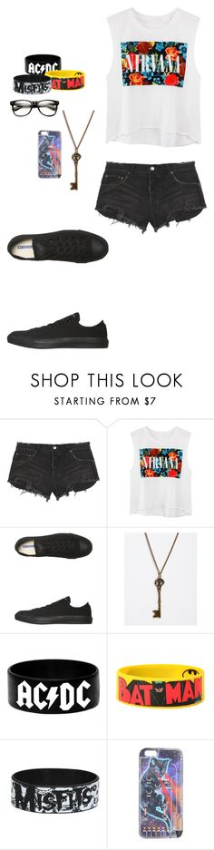 """""""Untitled #571"""" by breemanor on Polyvore featuring Ksubi, Converse, And Mary, women's clothing, women's fashion, women, female, woman, misses and juniors"""