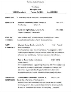 Resume Templates For Students Mesmerizing Qld  Pinterest  Resume Template Australia