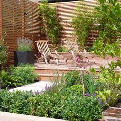 This wonderful Tooting garden was designed by Shelley Hugh-Jones and built by Belderbos Landscapes. The garden uses a combination of sawn sandstone, hardwood decking and cedar batten trellis. The outdoor pool is sunken and includes water jets and the planting is a mixture of evergreen and herbaceous to provide year-round interest.