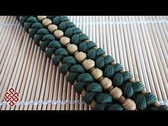 T-34-85 Knot Paracord Bracelet Tutorial - YouTube
