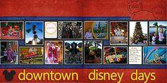 Downtown Disney by Little wonders