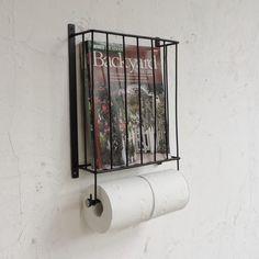 雑誌や新聞を入れられるカゴが上についた トイレットホルダーです。 雑誌をオシャレに収納できるのでとっても便利♪ トイレットペーパーが2個はめられるので 使いや...|ハンドメイド、手作り、手仕事品の通販・販売・購入ならCreema。