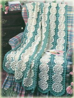 **A BEAUTIFUL AFGHAN!! i WOULD LOVE ONE FOR MYSELF**  Image detail for -PATTERNS FOR CROCHET AFGHANS | Crochet For Beginners