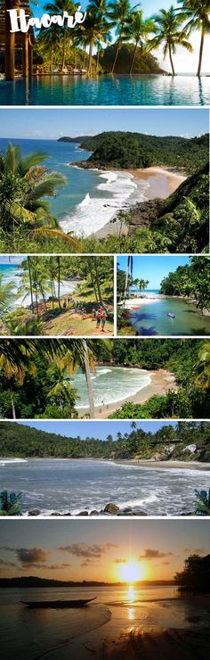 Hidden corners of the wild Cocoa Coast. Brazil Vacation, Brazil Travel, Costa Rica Travel, Temple Maya, Places Around The World, Around The Worlds, Places To Travel, Places To Visit, Vacation Destinations