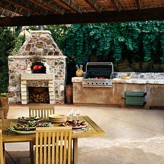 Outdoor kitchen. Check out www.islandlivingandpatio.com for ALL outdoor_living furniture and accessories!