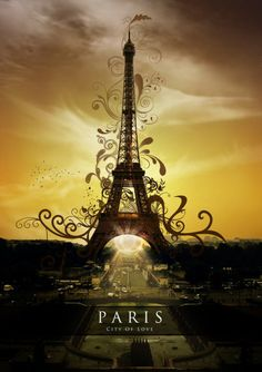 ~Paris City Of Love ~*  Seriously, I want to go to Paris someday