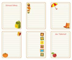 Scrapbook Your Memories with these Free Fall-Themed Journaling Spots | September/October 2013 | Creating Keepsakes